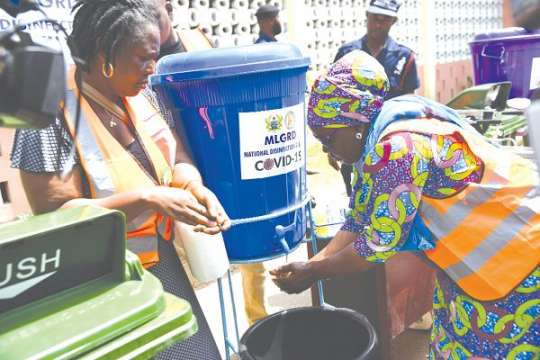 Market queens schooled on proper hand washing