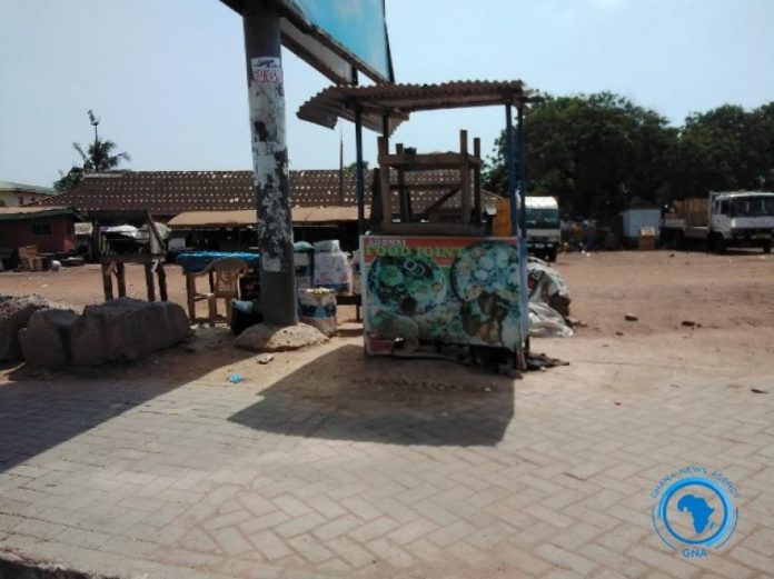 Teshie Goes Quiet As Movement Is Restricted