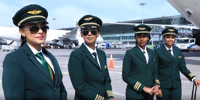 th consecutive all women operated flight