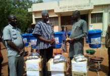 Addro Donates Ppes To West Mamprusi Health Directorate
