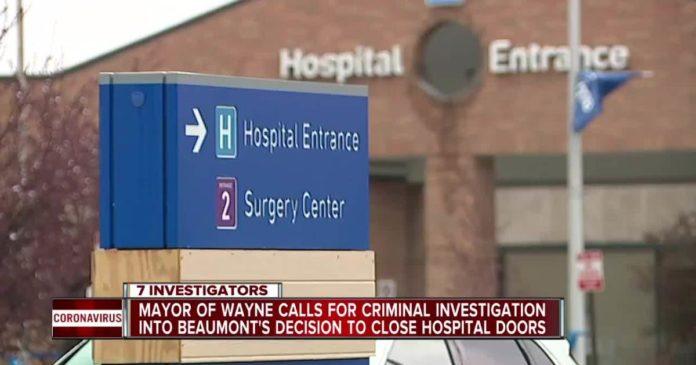 Beaumont Hospital In Wayne Michigan Closes Amid Covid Pandemic
