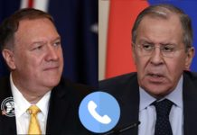 Pompeo and Lavrov talked on common issues