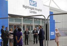 [AFP]BRITAIN-HEALTH VIRUS HOSPITAL