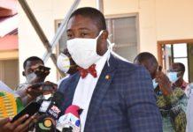 Deputy Minister Of Health Dr Bernard Oko Boye