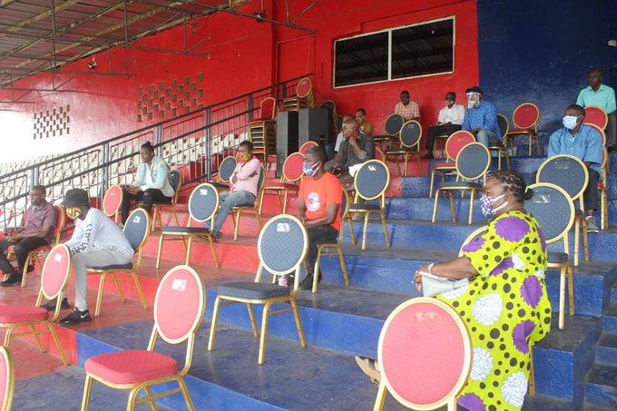 Football Meeting In Liberia