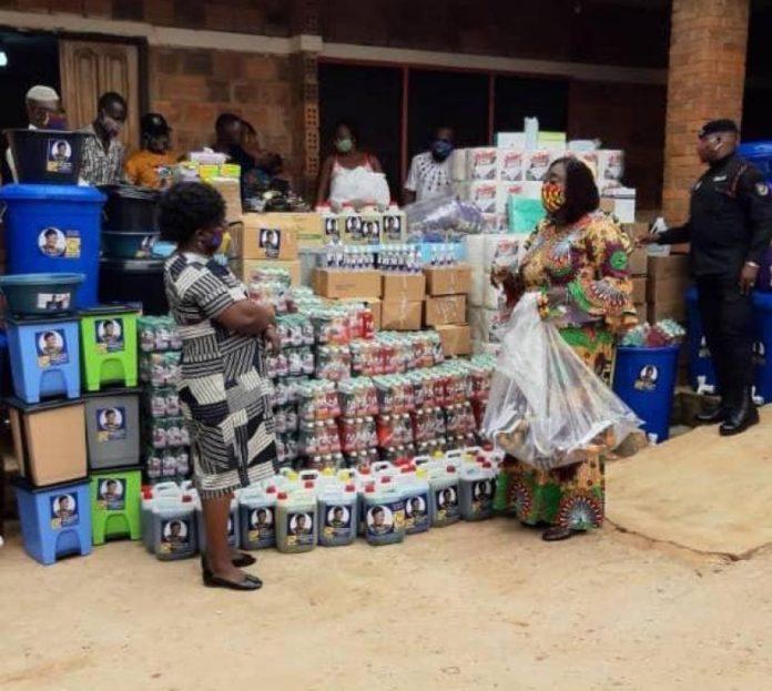 Freda Prempeh Donates Ppe