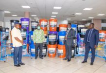 Gcb Donates Veronica Buckets To Sanitation Ministry