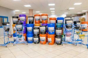 Gcb Donates Veronica Buckets To Sanitation Ministry