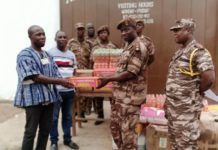 Lecturer Donates To Ankaful Prisons
