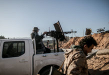 Libya S Un Backed Gov T Forces Launch Airstrikes On East Based Army