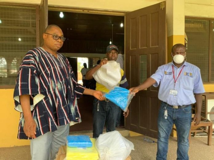 Mensin Gold Bibiani Limited Donates To Health Facilities