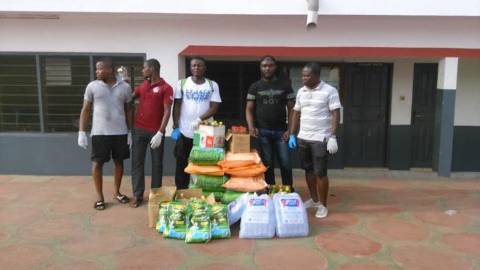 Pro Fighting Factory Ghana Donates