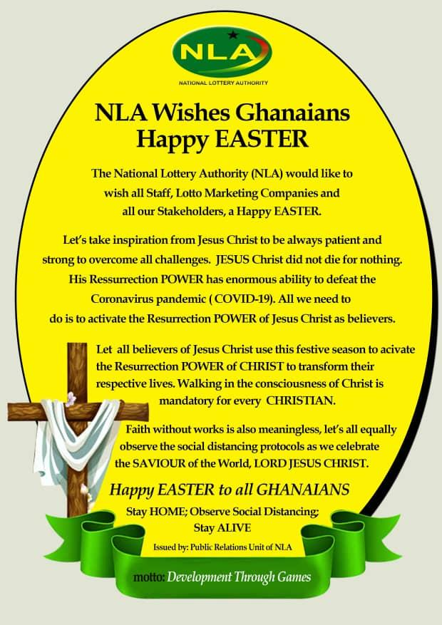 Nla Wishes Stakeholders A Happy Easter News Ghana