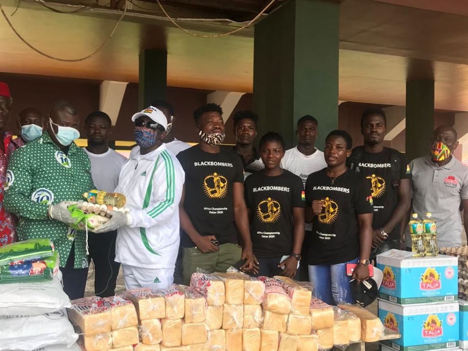 Black Bombers And Pro Fighting Factory Show Appreciation To Lawrence Nyanyo Nmai