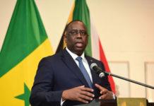 President Of Senegal Macky Sall