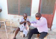 Rev Kweku Addo Donates