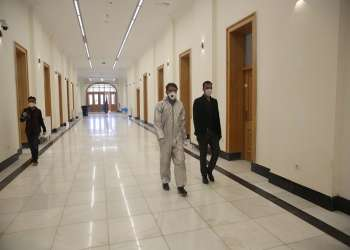 Royal Castle Turns Into Hospital In Kabul For Covid Patients