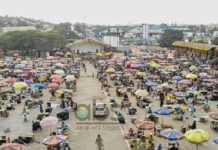 Sekondi Takoradi Market Social Distancing Model