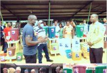 Social Amewu Donation