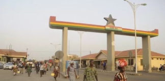 The Ghana Togo Border