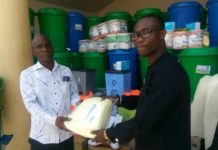 Upper West Akim Assembly Donates Ppes To Support Frontline Workers