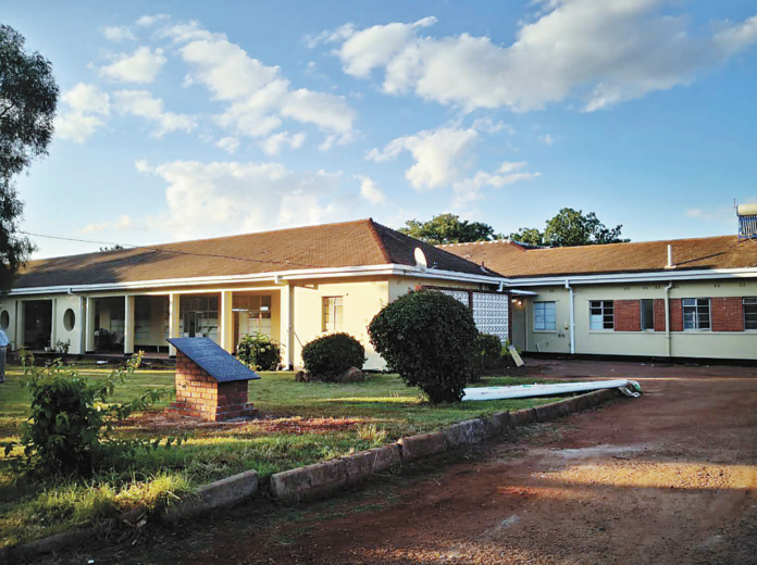 The photo shows the Wilkins Hospital in Zimbabwe's capital Harare after renovation. Photo by Zhou Xuegong