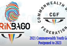 Commonwealth Youth Games Postponed To