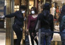 Dallas Shoppers Amid Covid Pandemic