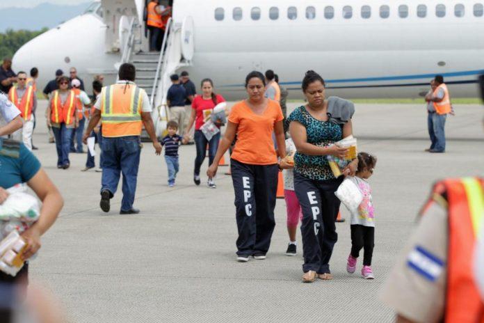 Deported Honduran