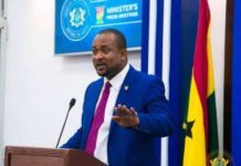 Deputy Minister For Information Pius Enam Hadzide