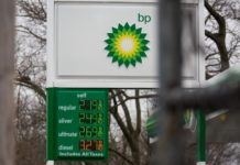 Gas prices are displayed at a BP gas station in the Brooklyn borough of New York, the United States on April 9, 2020. The Organization of the Petroleum Exporting Countries (OPEC) and its allies led by Russia, known as OPEC+, reached on Thursday a tentative agreement to cut production to stop a market free-fall amid the coronavirus pandemic, pending the consent of Mexico. (Photo by Michael Nagle/Xinhua)