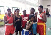 Female Boxers Ghana