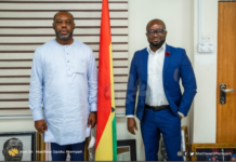 Gfa President Kurt Okraku Meets Education Minister