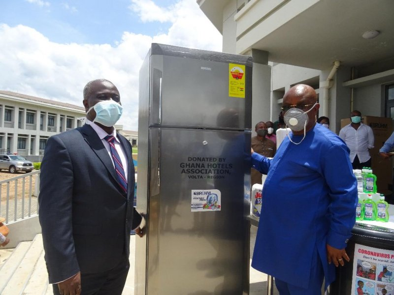 Ghana Hotels Association supports UHAS COVID-19 Testing Centre