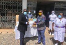 Ghana Upstream Petroleum Chamber Assists Effia Nkwanta Regional Hospital With Ppe