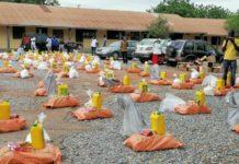 Madina Mp Donates Food Items To Needy