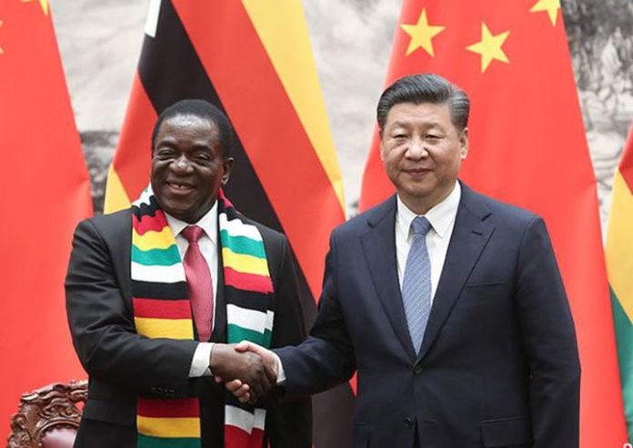 Mnangagwa China