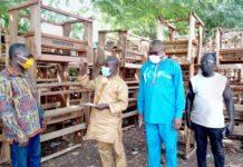 Mp Donates Furniture To Bibiani Anhwiaso Bekwai Education Directorate