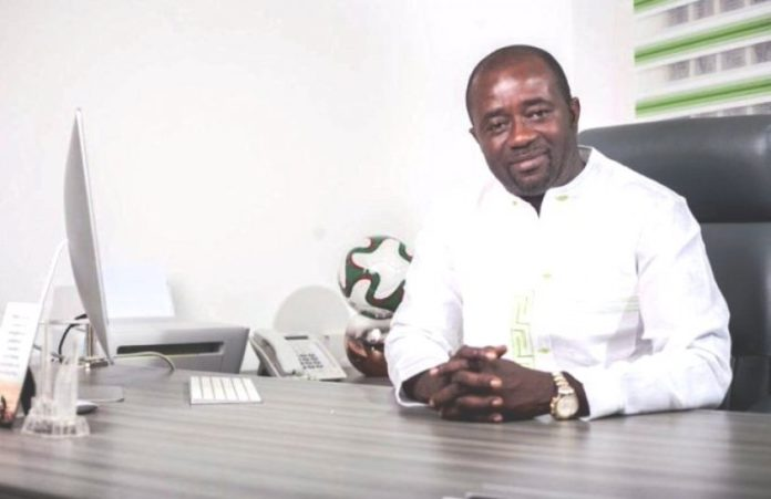 Mr Kurt Okraku President Of The Ghana Football Association