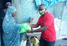 Ndc Anyaa Sowutuom Pc Distributes Food Items To Muslim Communities