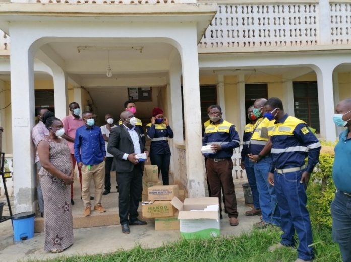 Newmont Trainees Donate Ppes To Health Facilities In Ahafo
