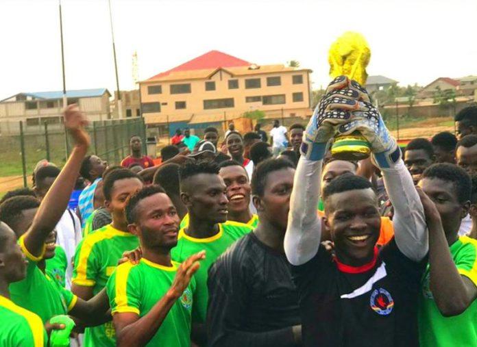 Goalkeeper Emmanuel Kojo