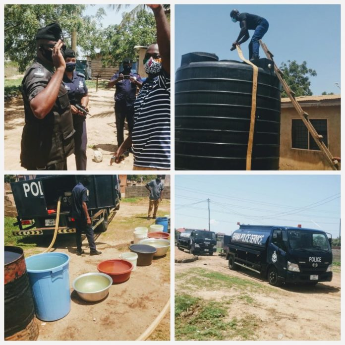Police Supply Water To Zion City Residents