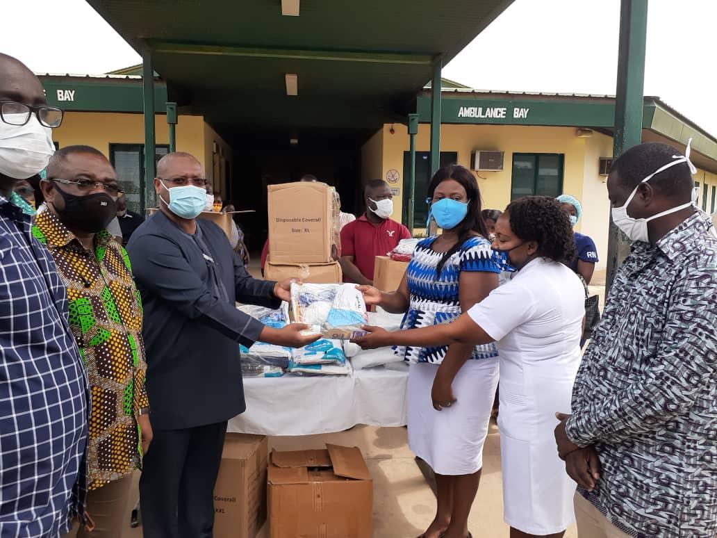 COVID19: John Mahama supports Sogakope, Richard Novati Hospitals