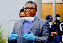 South African Transport Minister Fikile Mbalula
