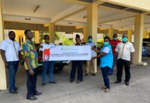 Symbolic Donation Of Shell Fuelsave By Vivo Energy Ghana And Its Retailers To The National Commission For Civic Education In The Western Region
