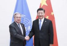 Xi With Un Chief