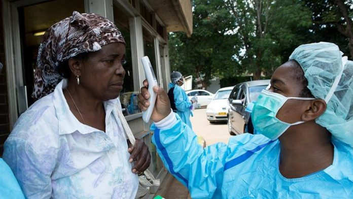 Zimbabwe Screening By Healthcare Workers For Covid