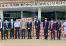 Chinese Embassy Donates Medical Supplies To Greater Accra Regional Hospital