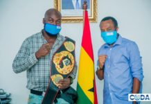 Richard Nii Lartey Harrison visits CODA boss